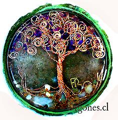 Orgón árbol de la vida 2